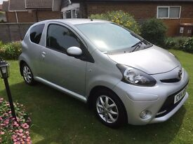 Toyota Aygo Mode 2014 - 3 Door - Full Main Dealer Service History - 29K miles - £0 Road Tax