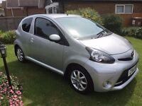Toyota Aygo Mode 2014 - 3 Door - Full Main Dealer Service History - 29K miles - £0 Road Tax