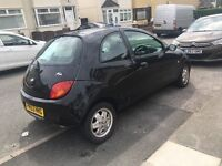 Ford black Ka .£450 MOT till Dec 17,great little runner