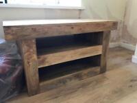 Mango wood tv unit as seen in oak furniture land