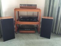 Bang and Olufsen stereo system