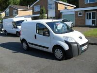 PEUGEOT BIPPER 1.4 HDI 5 SPEED DIESEL SAME AS CITROEN NEMO OR FIAT FIORINO CLEAN LITTLE VAN
