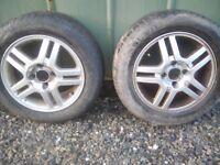 Ford focus 15 inch alloys x2