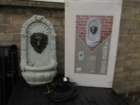 Bermuda Lions head water feature.... £25