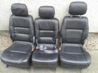 Toyota previa leather seats (middle row)