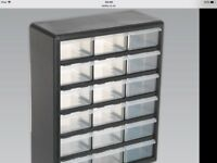 Sealey 18 compartment storage case