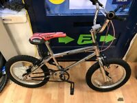 Emelle chrome bmx 16inch wheels single speed bicycle cycles cycle childrens