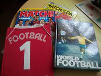 Mix of football books £8