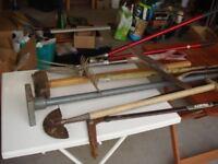 Garden/ Genral tools