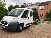Citreon Relay Crew Cab Tipper for sale