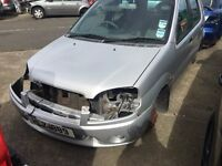 2001 suzuki ignis, 1.3 petrol, breaking for parts only, all parts available
