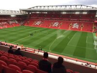 2 x Liverpool v Tottenham Dugout hospitality EFL cup 25th October