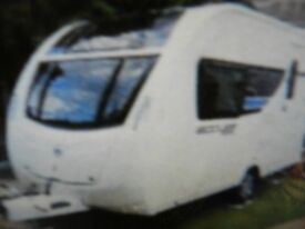 2012 Sterling Eccles 2 berth caravan