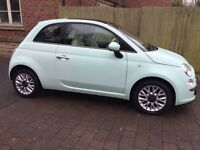 Mint Green Fiat 500 1.2 Lounge 3dr Start Stop‎ for Sale - Low Mileage