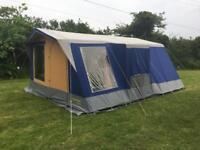 Sunn camp cottage 6 frame tent