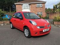 2010 NISSAN MICRA VISIA 1.2 ONLY 35,000 MILES ALL MAJOR CARDS ACCEPTED