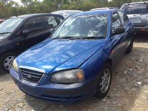 REPOST:02/2004 4 DOOR HYUNDAI ELANTRA BLUE FOR PARTS Willawong Brisbane South West Preview