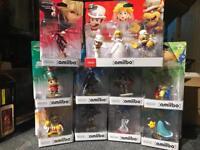 12 Amiibo various