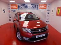 Dacia Sandero STEPWAY LAUREATE DCI(£20.00 ROAD TAX)FREE MOT'S AS LONG AS YOU OWN THE CAR! 2013