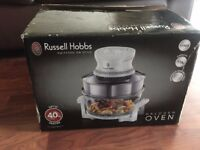 HALOGEN OVEN BRAND NEW IN BOX RUSSELL HOBBS WITH TIMER, 1400 W