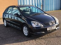 2005 Honda Civic 1.6 Executive ,mot - April 2018,only 33,000 miles,full service history,astra,focus