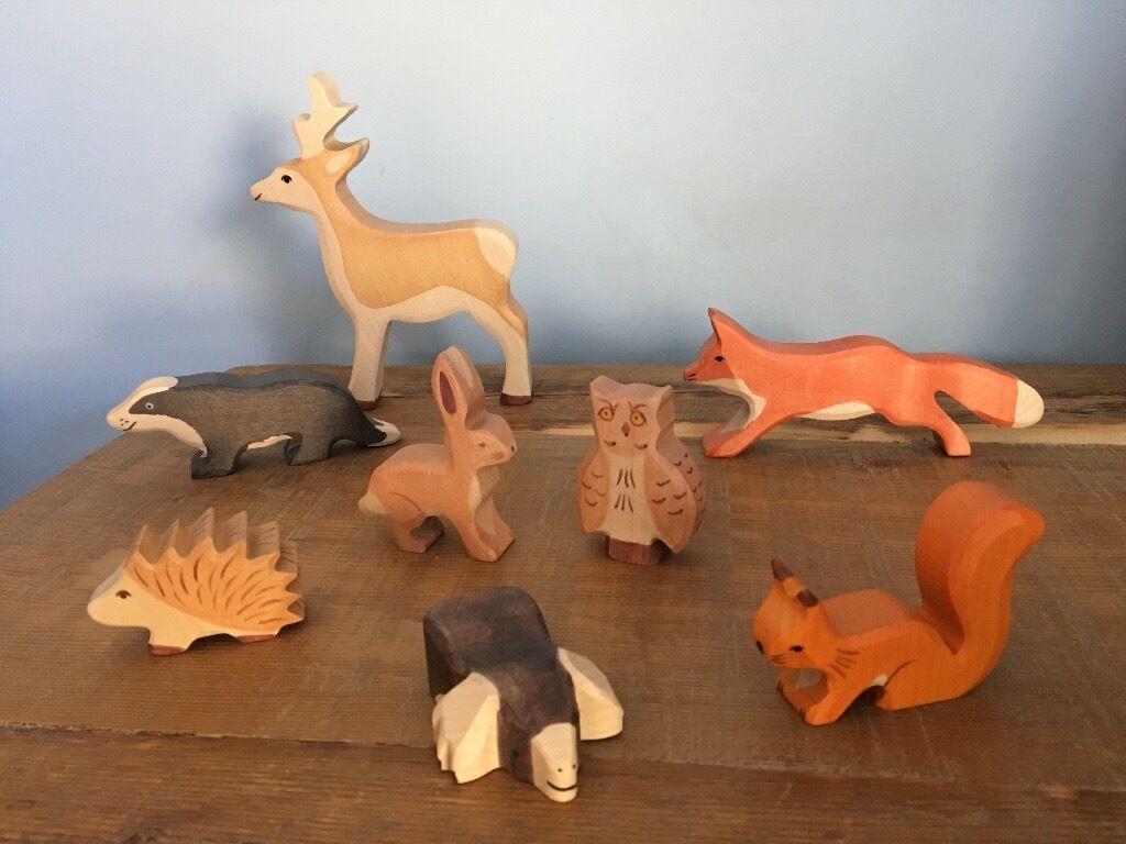 wood animal christmas ornaments