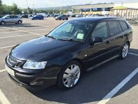 2007 SAAB 9-3 VECTOR SPORT TID ESTATE / NEW MOT / PX WELCOME / TOWBAR / LEATHER / WE DELIVER