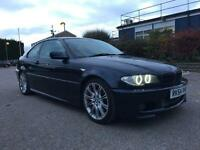 2004 54, E46 BMW 330ci Msport Auto Facelift, 128K, 12M MOT, FSH, 3 Owners, Xenons, Angels, Leather