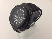 New Hublot Big Bang King Power back case automatic watch with Open work back