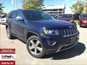 2016 Jeep Grand Cherokee LIMITED 4X4**POWER SUNROOF**BLUETOOTH**