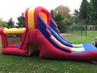 Kids Double Mega Slide Combo Bouncy Castle