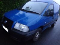 55 reg 1 owner fiat scudo 2.0 diesel with only 60k miles from new+mot till dec and FREE DELIVERY