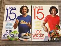 Lean in 15 Joe Wicks Books £7 for both