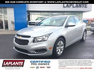 2015 Chevrolet Cruze LT Auto/Rear Camera/Bluetooth
