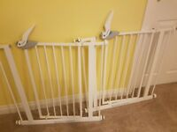 Two Lindam Stair Gates / Baby Gate