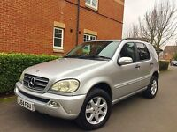 "2004 54 REG Mercedes-Benz M Class 2.7 ML270 CDI Auto 5dr "" HPI CLEAR """