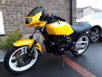 Kawasaki GPZ550. Ex classic race bike. MOT`d till July 2019