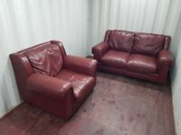 2 seater sofa & armchair... Can deliver