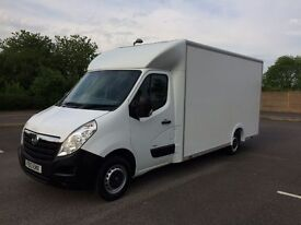 Vauxhall Movano F3500 L3H1 CDTI Platform Cab Low Loader GRP Luton Van - Excellent Condition