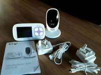 BT baby video monitor