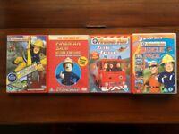 Selection of Fireman Sam DVDs