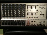 Phonic PowerPod 740 mixer amp (200w) for Sale