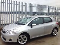 2012 TOYOTA AURIS T4 1.8 HYBRID 5 DOORS HATCH BACK AUTO SILVER ++ LOW MILEAGE!!! ++