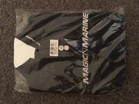 Magic Marine Cube Rash Vest Black (XS)