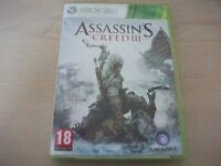 Assassins Creed III 3 XBox 360