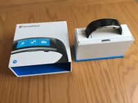 Microsoft Band 2 - Medium, Black, brand new (replacement that just arrived from Microsoft service)