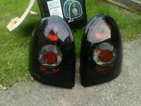 Corsa b rear Lexus lights