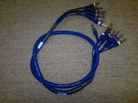 Multi-pair (4 balanced stereo) stage cable