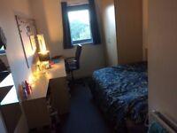Edinburgh, Granton student room in Halls of Residence