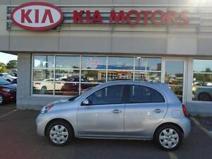 2015 Nissan Micra SV LOCAL TRADE / NEW TIRES